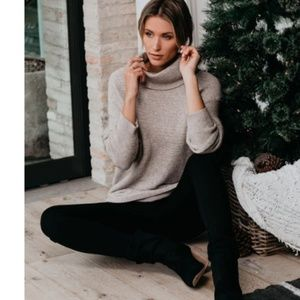 TABATHA Cowl Neck Sweater